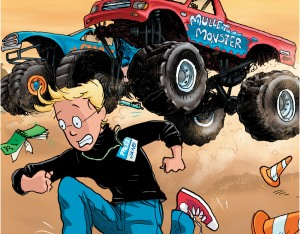 Jane and Monster Truck
