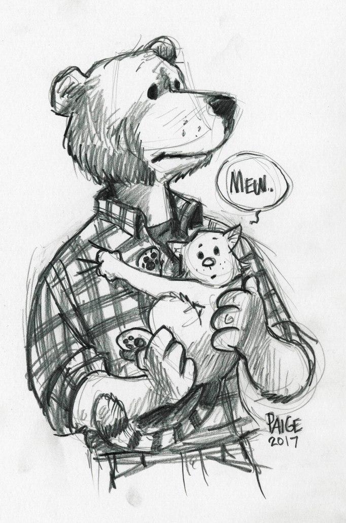 Bear and Kitten