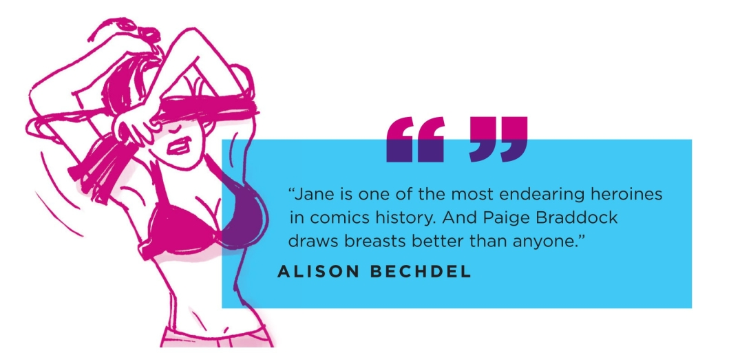 Alison Bechdel quote on Jane's World